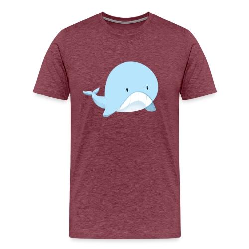 Whale - Maglietta Premium da uomo