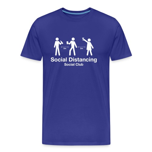 Social Distancing Social Club - Men's Premium T-Shirt