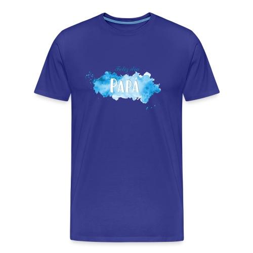 Feliz día Papá - Camiseta premium hombre