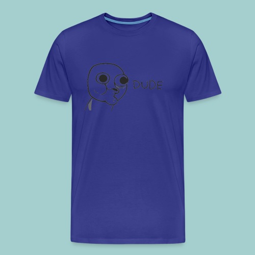 FLUSH Dude - Herre premium T-shirt