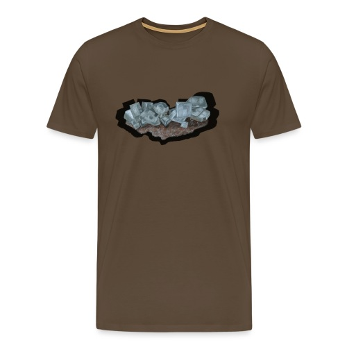 Halit-Kristallstufe - Männer Premium T-Shirt