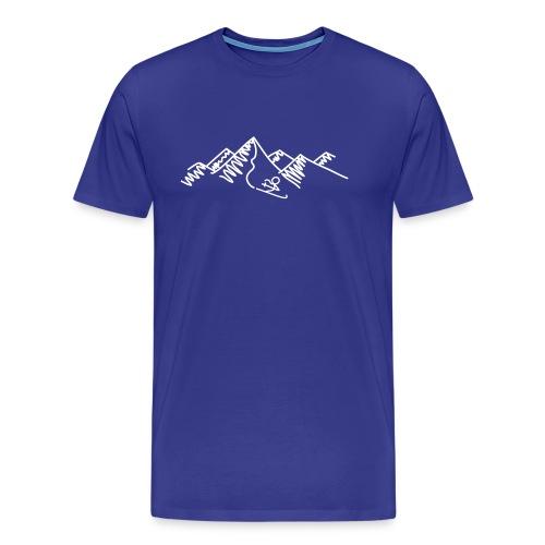 ski-0009 - Männer Premium T-Shirt