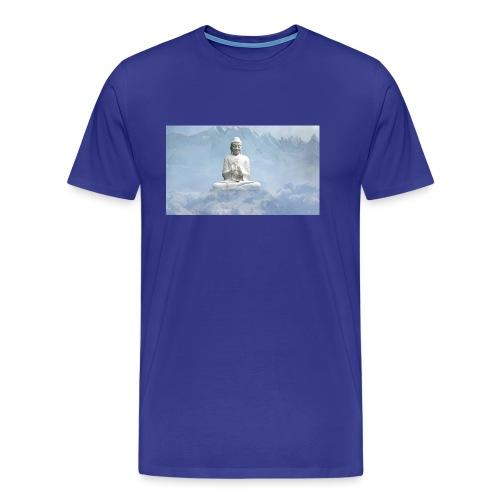 Buddha with the sky 3154857 - Men's Premium T-Shirt