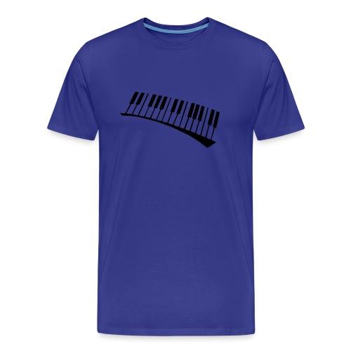 Piano - Camiseta premium hombre
