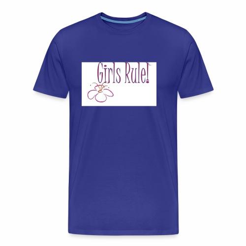 Girls rule - Men's Premium T-Shirt
