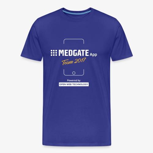 Medgate App Team 2017 Dark - Männer Premium T-Shirt