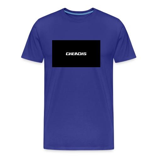 Cheacks MousePad - Mannen Premium T-shirt