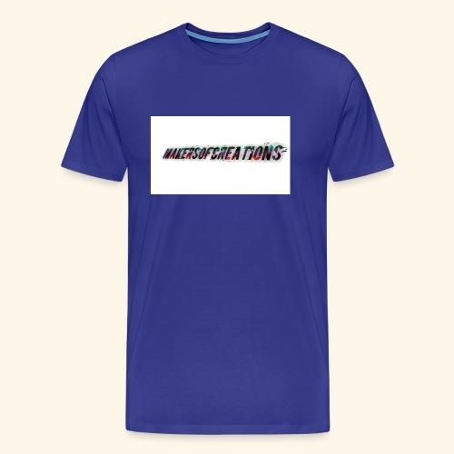 makersofcreations - Premium-T-shirt herr