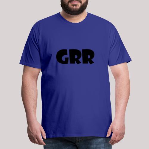 GRR - Mannen Premium T-shirt