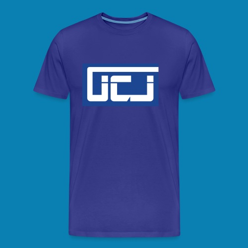 JCJ Wale Blue - Men's Premium T-Shirt