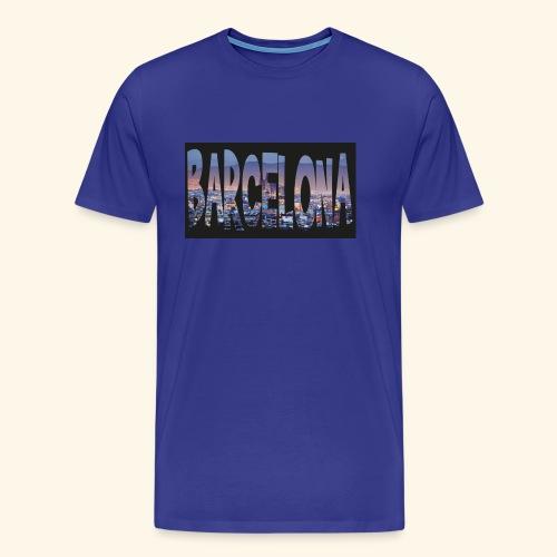 Barcelona - spain - Mannen Premium T-shirt