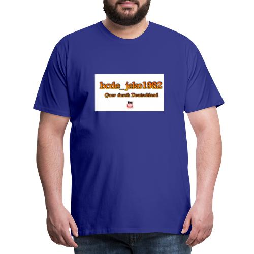 quer durch deutschland - Männer Premium T-Shirt