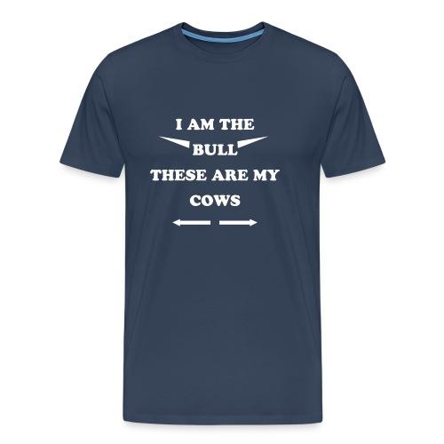 Bull - Herre premium T-shirt