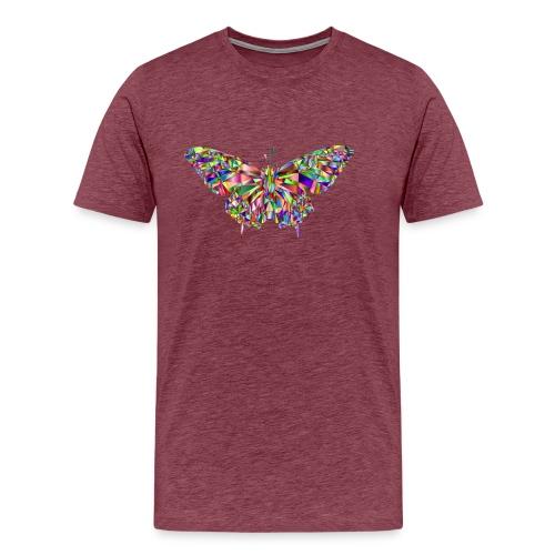 Geflogener Schmetterling - Männer Premium T-Shirt