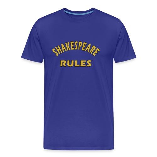 Shakespeare Rules - Men's Premium T-Shirt