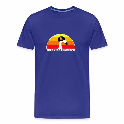 FF Flaming Flamingo - Männer Premium T-Shirt