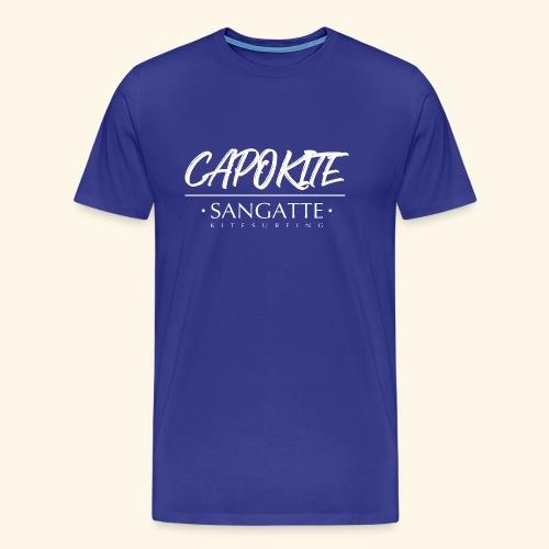 logo capokite noir new white - T-shirt Premium Homme