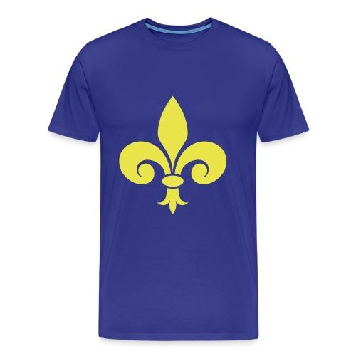 Fleur de Lys royale - T-shirt Premium Homme