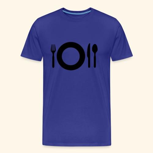 cutlery 1588097 1280 - Männer Premium T-Shirt