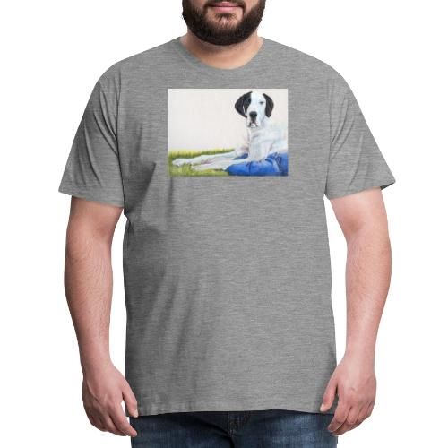 Grand danios harlequin - Herre premium T-shirt