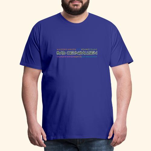 Colorful Oeynhausen - Männer Premium T-Shirt