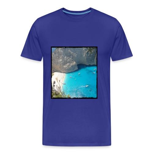 lefkada jpg - Mannen Premium T-shirt