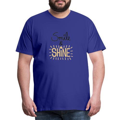 Smile & Shine - Men's Premium T-Shirt