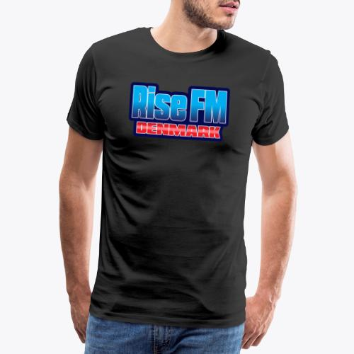 Rise FM Denmark Text Only Logo - Men's Premium T-Shirt