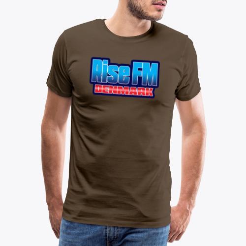 Rise FM Denmark Text Only Logo - Herre premium T-shirt