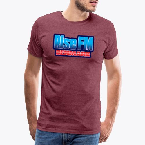 Rise FM Denmark Text Only Logo - Men's Premium T-Shirt