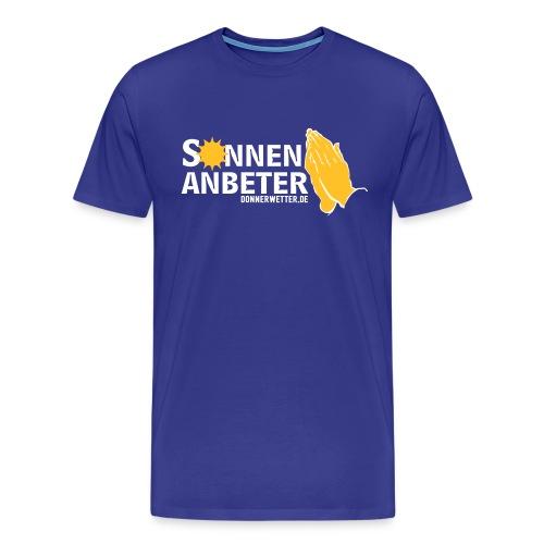 Sonnenanbeter - Männer Premium T-Shirt
