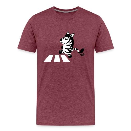 Zebra - colored - Männer Premium T-Shirt
