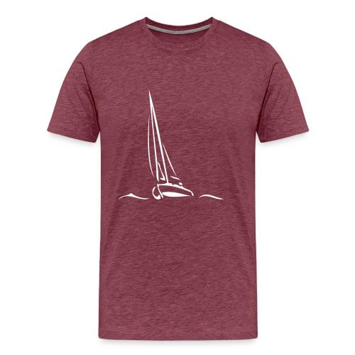 Segelboot - Männer Premium T-Shirt