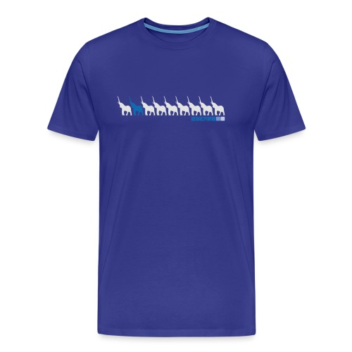 Karma street flow - 2wear Classics - Herre premium T-shirt