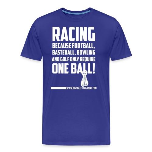 balls w png - Männer Premium T-Shirt