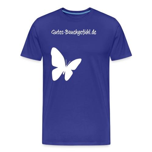 schmetterling lila gross - Männer Premium T-Shirt