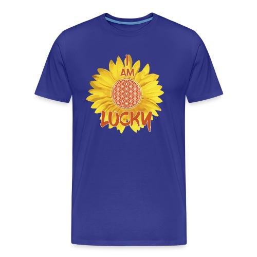 I AM LUCKY - Men's Premium T-Shirt