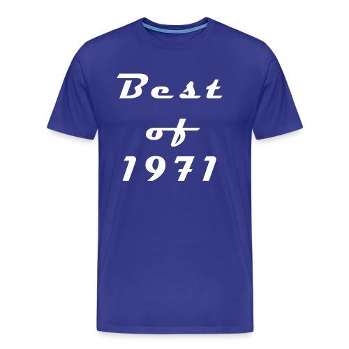 Best of 1971 - Männer Premium T-Shirt