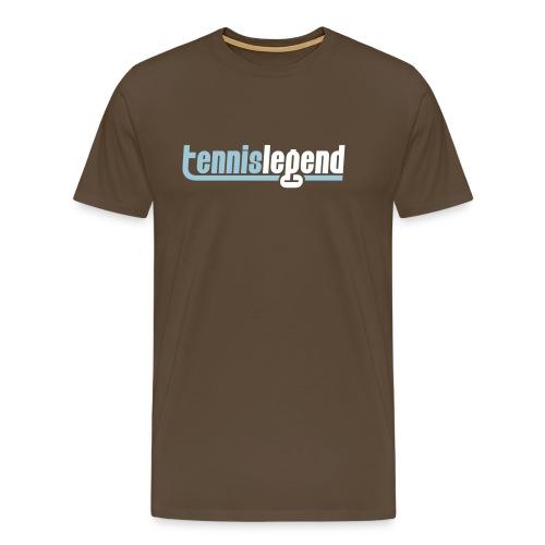 tennislegendlogofinal - T-shirt Premium Homme