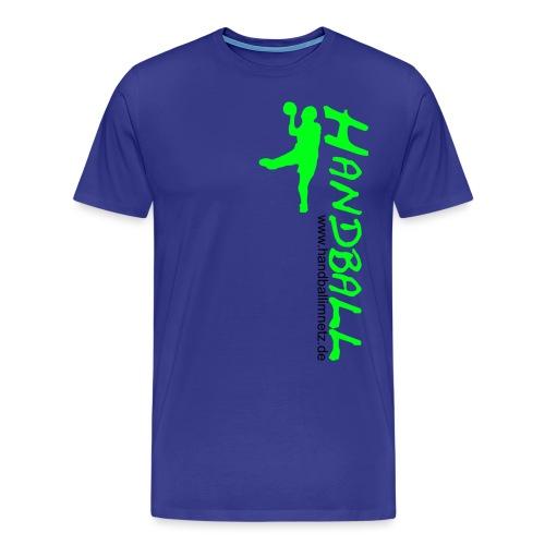 HIN Werfer Grün Schwarz - Männer Premium T-Shirt