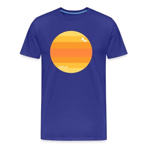 Midnattsol - Premium T-skjorte for menn