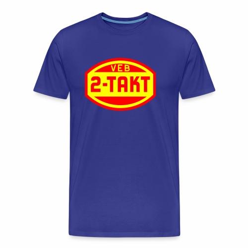 VEB 2-Takt Logo (2c) - Men's Premium T-Shirt