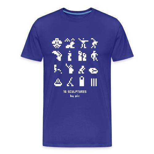 16 sculptures - T-shirt Premium Homme