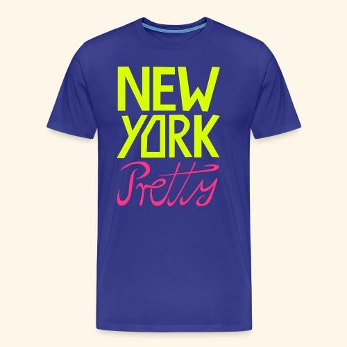 NEW YORK Pretty - Männer Premium T-Shirt