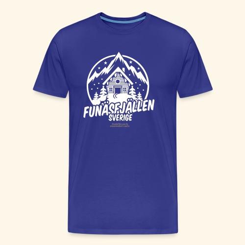 Funäsfjällen Sverige Ski resort T Shirt Design - Männer Premium T-Shirt
