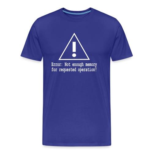 Error Nerd - Männer Premium T-Shirt