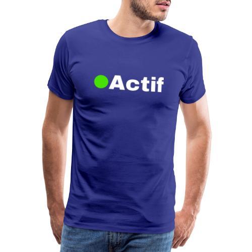 actif messenger - T-shirt Premium Homme