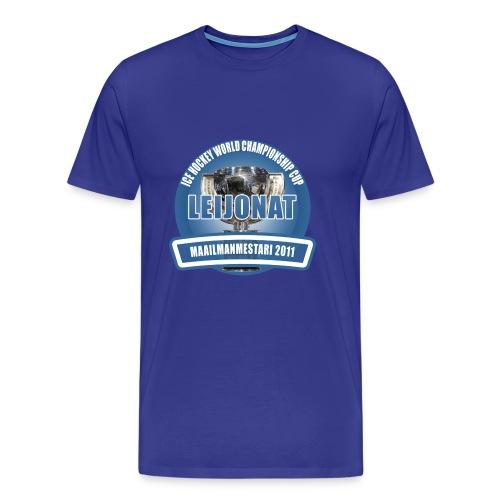 icehockeyworldchampionshipcup2011 - Miesten premium t-paita