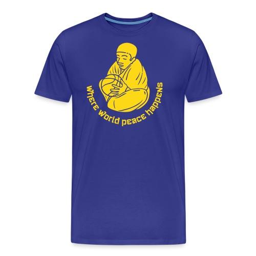 bball monch neg - Männer Premium T-Shirt
