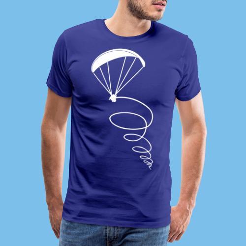 Paragliding Thermik Geschenk Pilot - Männer Premium T-Shirt